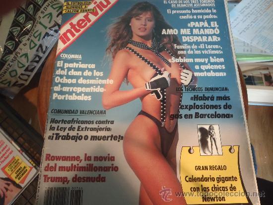 INTERVIU 766 ROWANNE DESNUDA (Coleccionismo - Revistas y Periódicos Modernos (a partir de 1.940) - Revista Interviú)