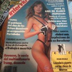 Coleccionismo de Revista Interviú: INTERVIU 766 ROWANNE DESNUDA. Lote 36966430