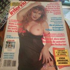 Coleccionismo de Revista Interviú: INTERVIU Nº 765 VIRNA ANDERSON DESNUDA. Lote 36966522