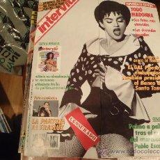 Coleccionismo de Revista Interviú: INTERVIU Nº 742 TODO MADONA. Lote 37057222