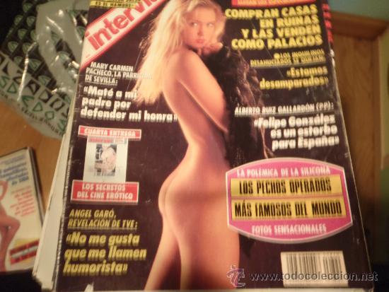 INTERVIU Nº 820 LOS PECHOS OPERADOS MAS FAMOSOS DEL MUNDO (Coleccionismo - Revistas y Periódicos Modernos (a partir de 1.940) - Revista Interviú)