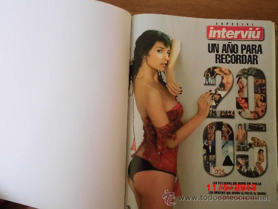REVISTAS INTERVIÚ ENCUADERNADAS (Coleccionismo - Revistas y Periódicos Modernos (a partir de 1.940) - Revista Interviú)