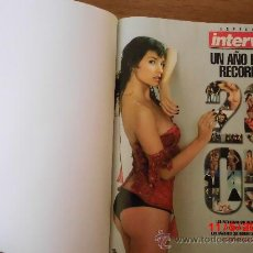 Coleccionismo de Revista Interviú: REVISTAS INTERVIÚ ENCUADERNADAS. Lote 37177075