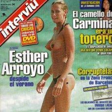 Coleccionismo de Revista Interviú: INTERVIU AÑO 2004 ESTHER ARROYO. Lote 93919759