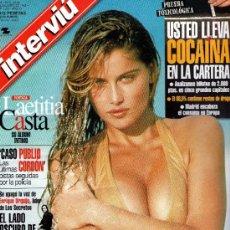 Coleccionismo de Revista Interviú: INTERVIU AÑO 1999 LAETITIA CASTA. Lote 37611702