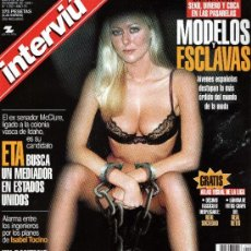 Coleccionismo de Revista Interviú: INTERVIU AÑO 1999 MODELOS Y ESCLAVAS. Lote 37611724