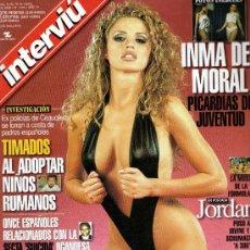 Coleccionismo de Revista Interviú: INTERVIU AÑO 2000 INMA DEL MORAL+ JORDAN. Lote 37611741