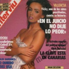 Coleccionismo de Revista Interviú: INTERVIU Nº 599, 1987 ~. Lote 37751072