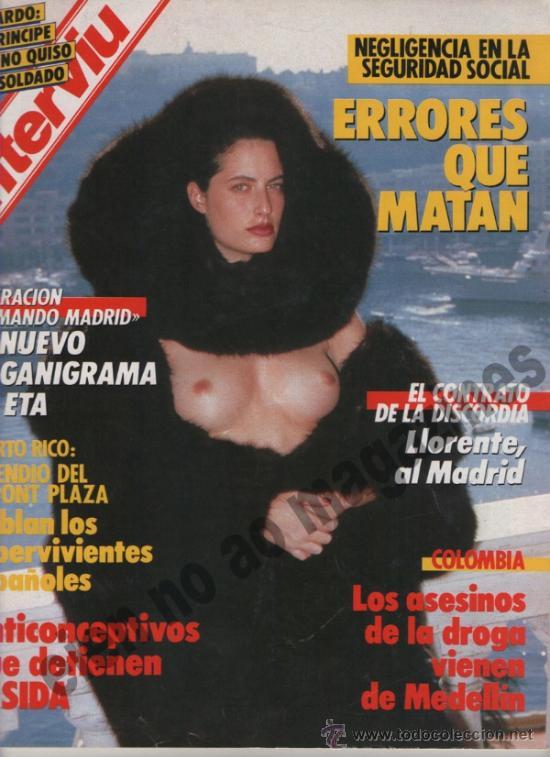 INTERVIU Nº 558, 1987 ~ (Coleccionismo - Revistas y Periódicos Modernos (a partir de 1.940) - Revista Interviú)