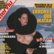 Coleccionismo de Revista Interviú: INTERVIU Nº 558, 1987 ~ . Lote 37751108