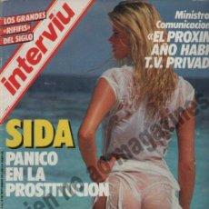 Collectionnisme de Magazine Interviú: INTERVIU Nº 486 / 1985 ~ . Lote 37873071