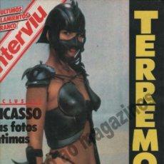 Colecionismo da Revista Interviú: INTERVIU Nº 489 / 1985 ~ . Lote 37873095