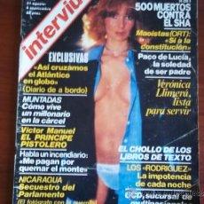 Coleccionismo de Revista Interviú: INTERVIU - Nº 120 - 6 DE SEPTIEMBRE DE 1978 / VERONICA LLIMERA / PACO DE LUCIA. Lote 38206338