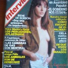 Coleccionismo de Revista Interviú: INTERVIU - Nº 145 - 22-28 DE FEBRERO DE 1979 / LUCRECIA FARION DESCAMISADA. Lote 38208936