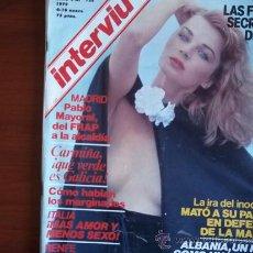 Coleccionismo de Revista Interviú: INTERVIU - Nº 138 - 4-10 DE ENERO DE 1979 / RENFE LA MUERTE A TODO TREN. Lote 38209088