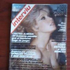Coleccionismo de Revista Interviú: INTERVIU - Nº 197 - 21-27 DE FEBRERO DE 1980 / CRISTINA ALMEIDA / ROJAS MARCOS /. Lote 38243413