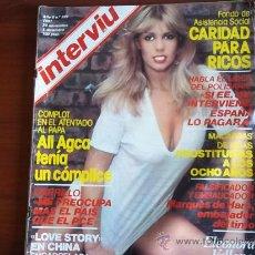 Coleccionismo de Revista Interviú: INTERVIU - Nº 289 - NOVIEMBRE DE 1981 - ELEONORA VALLONE MONTA A PELO / LOVE STORY EN CHINA. Lote 38495544