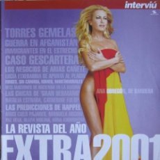 """Coleccionismo de Revista Interviú: REVISTA """"INTERVIU"""". SUPLEMENTO EXTRA RESUMEN AÑO 2001. Lote 38762135"""