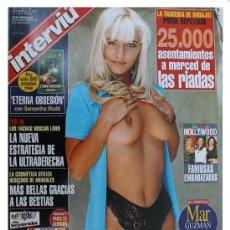 Coleccionismo de Revista Interviú: INTERVIU Nº 1125- MAR GUZMAN - ULTRADERECHA - FARMACEUTICA DE OLOT - NUEVA SIN USAR DE QUIOSCO -1997. Lote 38978054