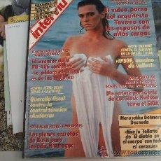 Coleccionismo de Revista Interviú: INTERVIU 705 MARUSCHKA DETMERS DESNUDA. Lote 39149203