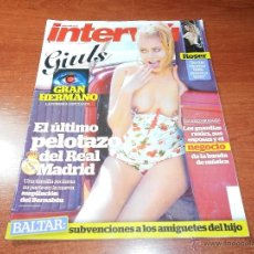 Coleccionismo de Revista Interviú: REVISTA INTERVIÚ Nº 1927 1/4/13 GIULS GRAN HERMANO, TERRENOS REAL MADRID, BOMBILLA ETERNA. Lote 39559126