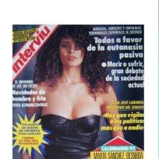 Coleccionismo de Revista Interviú: INTERVIU 817- LOS MEJORES DENSUDOS DE 1991- EUTANASIA- DESNUDOS SE REZA MEJOR. Lote 41535221
