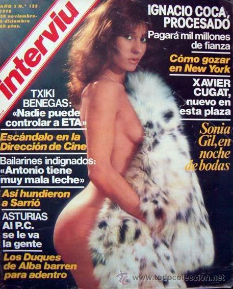 Revista Interviu 133 Sonia Gil Violeta Cela Paola Morra Xavier Cugat Duques De Alba