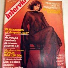 Coleccionismo de Revista Interviú: INTERVIU Nº 56 AÑO 2 PILAR FRANCO, DIANA POLAKOV, CRISTINA RAMON. Lote 40299601