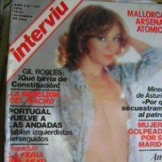 Coleccionismo de Revista Interviú: REVISTA INTERVIÚ 1978 Nº 131: GIL ROBLES, CONSTITUCIÓN, SEXO FRANKFURT GIL ROBLES, STEFANIA D'AMARIO. Lote 40638073