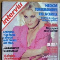 Coleccionismo de Revista Interviú: INTERVIU Nº442-31-6 NOVIEMBRE 1984-RAFI ESCOBEDO-MERCADO COMUN. Lote 41019166