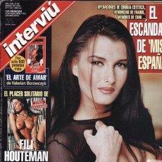 Coleccionismo de Revista Interviú: REVISTA INTERVIU Nº 1141 AÑO 1998. PORTADA: MÓNICA. EL ESCÁNDOLO DE MISS ESPAÑA. FILI OUTEMAN. . Lote 42196237