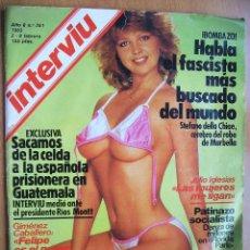 Coleccionismo de Revista Interviú: INTERVIU Nº351-2/8 FEBRERO 1983-HITLER-PAULA MOLINA-JULIO IGLESIAS. Lote 42258934