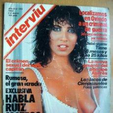Coleccionismo de Revista Interviú: INTERVIU Nº355- 2/8 MARZO 1983-RUIZ MATEOS-LLUIS LLACH-LUCIA. Lote 42269442
