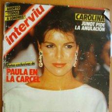 Coleccionismo de Revista Interviú: INTERVIU Nº466-17/23 ABRIL 1985-CAROLIAN DE MONACO-RAFAEL DE PAULA. Lote 42705188