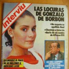 Coleccionismo de Revista Interviú: INTERVIU Nº472-29 MAYO/ 4 JUNIO-GONZALO DE BORBON-CENTRAL NUCLEAR DE ALMARAZ-HUGO SANCHEZ-. Lote 42756059