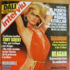 Coleccionismo de Revista Interviú: INTERVIU Nº444-14/20 NOVIEMBRE 1984-TONY ISBERT-REAGAN-DALI. Lote 42756555