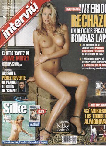 Revista Interviu Nº 1318 Año 2001 Portada Nikky Anderson Reportajes Acusan A Prerez Reverte De P