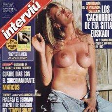 Coleccionismo de Revista Interviú: REVISTA INTERVIU Nº 1133 AÑO 1998. PRUEBA: JADE SAINTCLAIR MISS UNIVERSO. SPICE GIRL MEL B. CUATRO D. Lote 43291508