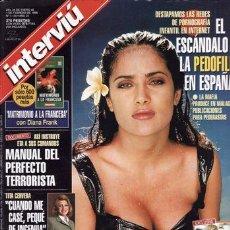 Coleccionismo de Revista Interviú: REVISTA INTERVIU Nº 1135 AÑO 1998. PORTADA: SALMA HAYEK. CAMERON DIAS TOP LESS. . Lote 43291529