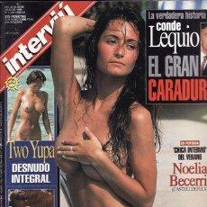 Coleccionismo de Revista Interviú: REVISTA INTERVIU Nº 1160 AÑO 1998. PORTADA: NOELIA BECERRIL INTERVIU DE VERANO. TWO YUPA DESNUDO INT. Lote 43291783