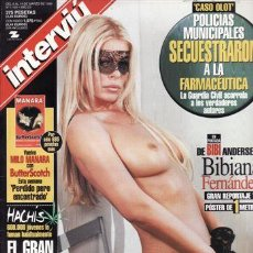 Coleccionismo de Revista Interviú: REVISTA INTERVIU Nº 1193 AÑO 1999. PORTADA: BIBIANA FERNANDEZ. INCLUYE POSTER DE 1 METRO. EL FUTBOL . Lote 109354920