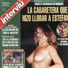 Coleccionismo de Revista Interviú: REVISTA INTERVIU Nº 1063 AÑO 1996. PORTADA: FILI HOUTEMAN DESNUDA. SIN POSTER CENTRAL MADONNA. . Lote 43332227