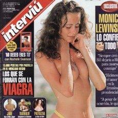 Coleccionismo de Revista Interviú: REVISTA INTERVIU Nº 1166 AÑO 1998. PORTADA: GABRIELA ZIKESOVA. MONICA LEWINSKY LO CONFIESA TODO.. Lote 43363307