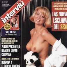 Coleccionismo de Revista Interviú: REVISTA INTERVIU Nº 1151 AÑO 1998. PORTADA: OLGA, LA HERMANISIMA DE SONIO MONROY. UNIVERSITARIAS HAB. Lote 43363415