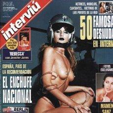 Coleccionismo de Revista Interviú: REVISTA INTERVIU Nº 1145 AÑO 1998. PORTADA: SHELLY CUNT. 50 FAMOSAS DESNUDAS EN INTERNET. . Lote 43363767