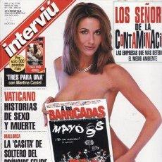 Coleccionismo de Revista Interviú: REVISTA INTERVIU Nº 1150 AÑO 1998. PORTADA: NACE A LAS BARRICADAS EL SEMANARIO DE HUMOS INTERVIU. . Lote 43364065