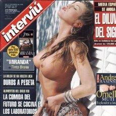 Collectionnisme de Magazine Interviú: REVISTA INTERVIU Nº 1083 AÑO 1997. PORTADA: ANDREA BASINSKI. ORNELLA MUTI ESPLENDOR A LO 40 AÑOS. . Lote 43454126