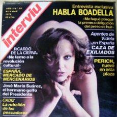Coleccionismo de Revista Interviú: REVISTA INTERVIU ABRIL DE 1978 Nº 99 . Lote 43579657