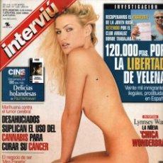 Coleccionismo de Revista Interviú: INTERVIU 1245. LYNNSEY WARD. JOSEMA YUSTE. Lote 47810410