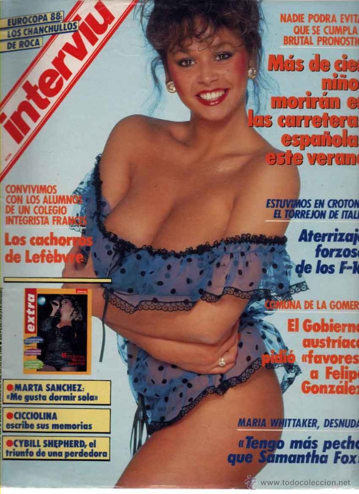 Interviu Nº 633 Maria Whittaker Marta Sanchez Sold Through